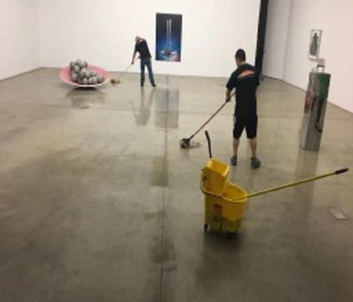 Gallery Cleanup After