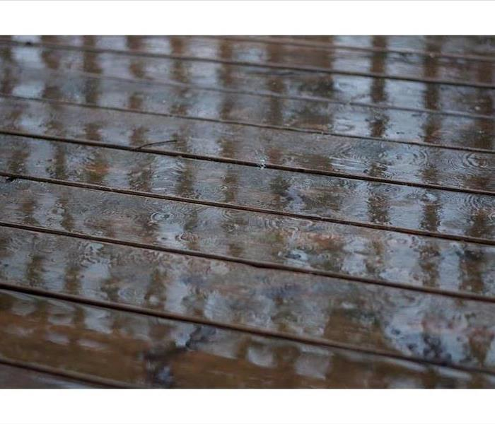 Outdoor Patio After Rain